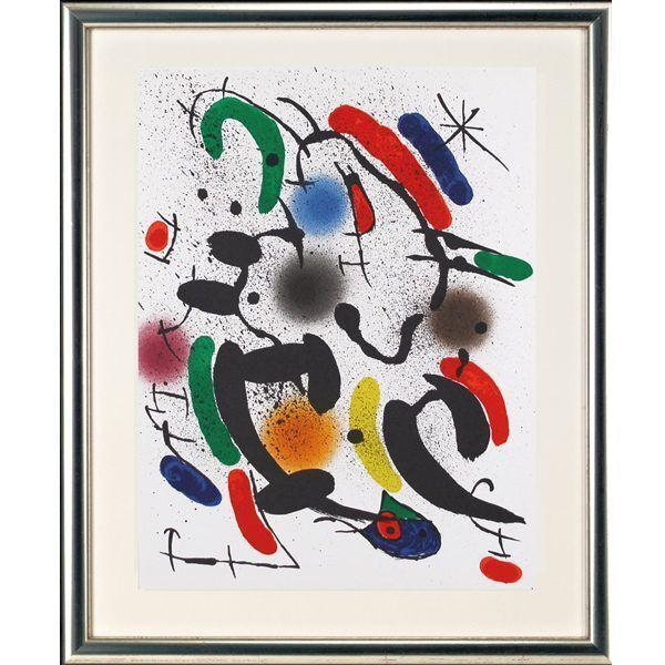 Miró, Joan: »O.T. (Nachthimmel)«