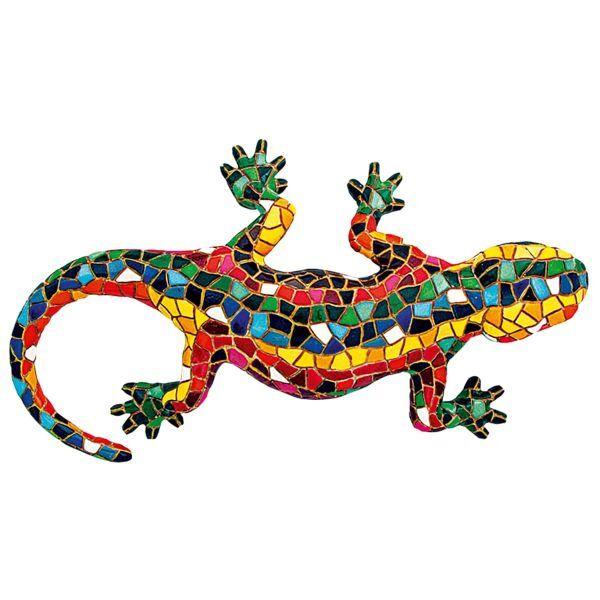 Mosaikfigur »El Gecko«