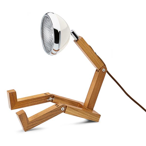 LED-Tischlampe »Mr. Volter«, weiß