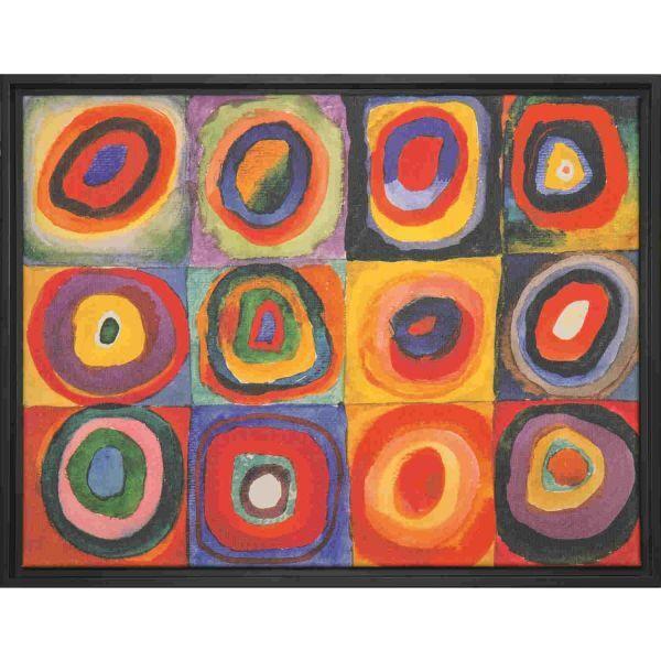 Kandinsky, Wassily: »Farbstudie Quadrate«, 1913