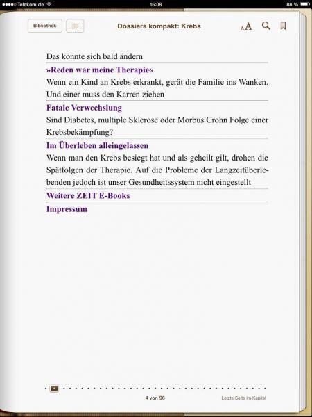 »Krebs - DIE ZEIT kompakt«