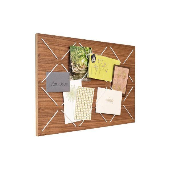 Pinnwand aus Holz