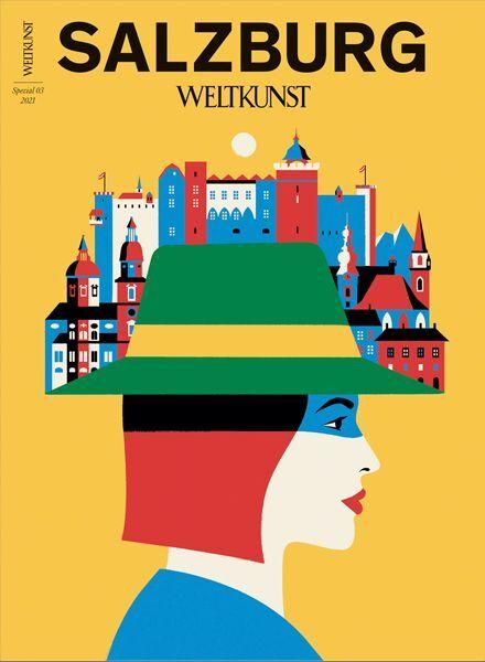 WELTKUNST 187/21 Sonderheft Salzburg