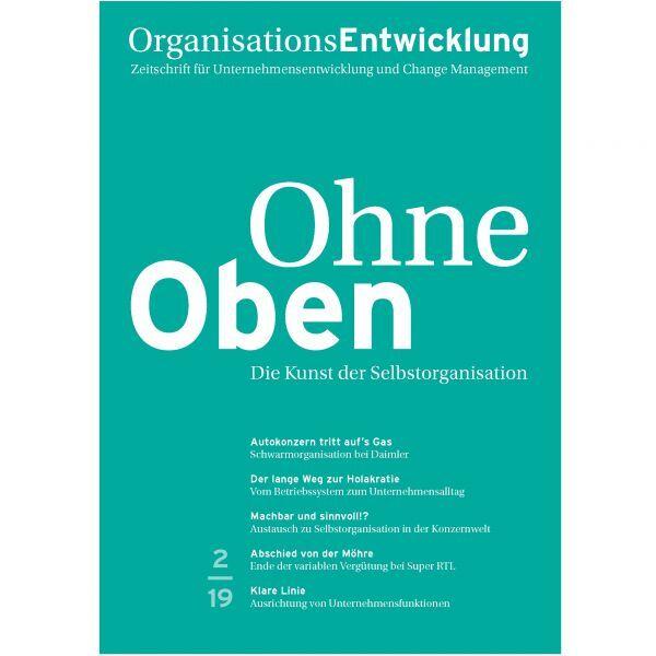OrganisationsEntwicklung 02/2019: Ohne Oben
