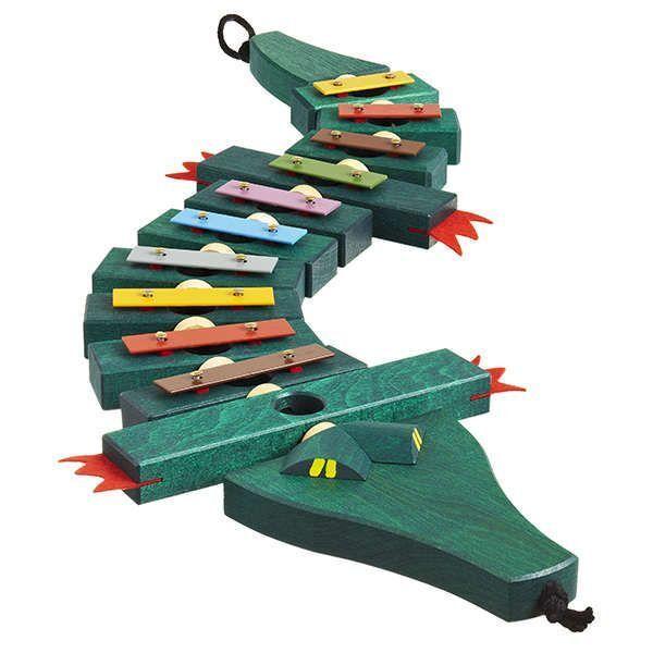 Krokodil-Glockenspiel