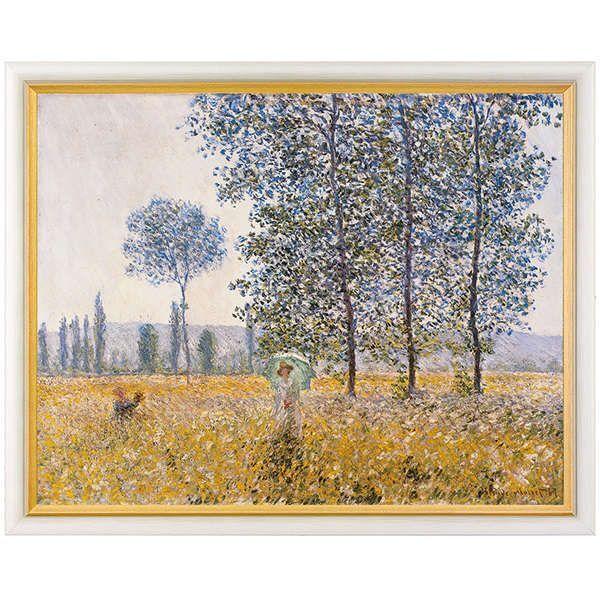 Monet, Claude: »Felder im Frühling«, 1887