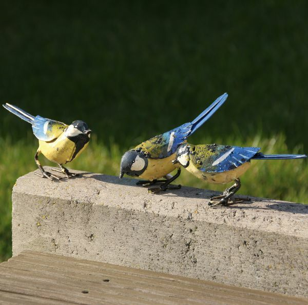 Deko-Objekte »Vögel«, 3-teilig