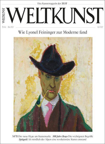 WELTKUNST 184/21 Wie Lyonel Feininger zur Moderne fand