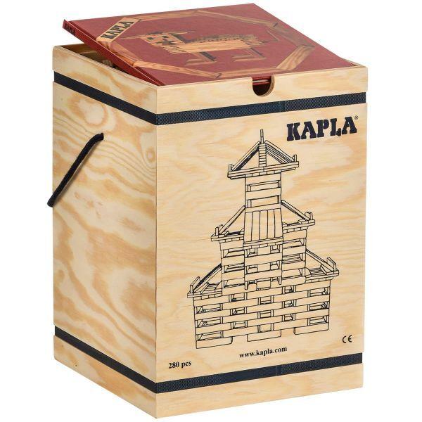 Holzbausteine 280er Kasten, Starterset mit Buch