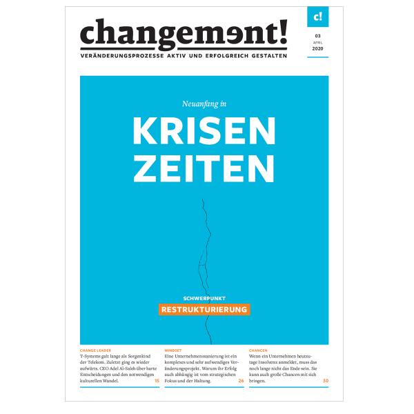 changement! Ausgabe 03/20: Neuanfang in Krisenzeiten