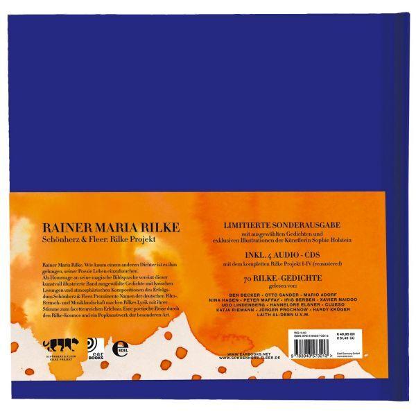 Earbook »Rainer Maria Rilke« mit 4 CDs