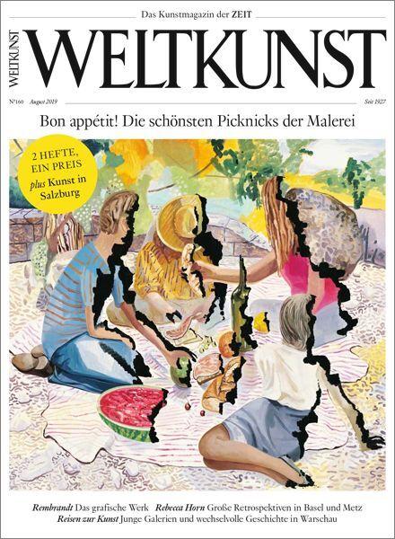 WELTKUNST 160/19 Bon appétit! Die schönsten Picknicks der Malerei