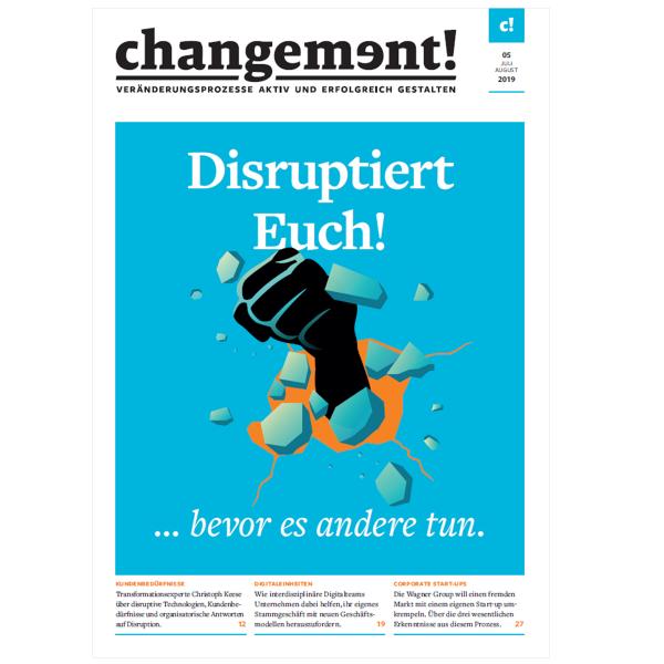 changement! Ausgabe 05/19: Disruption