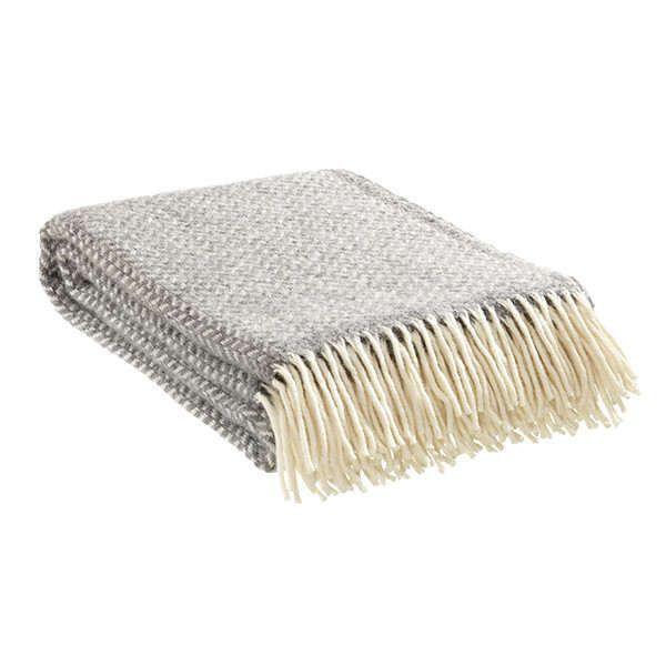 Decke »Polka« aus 100% Lammwolle