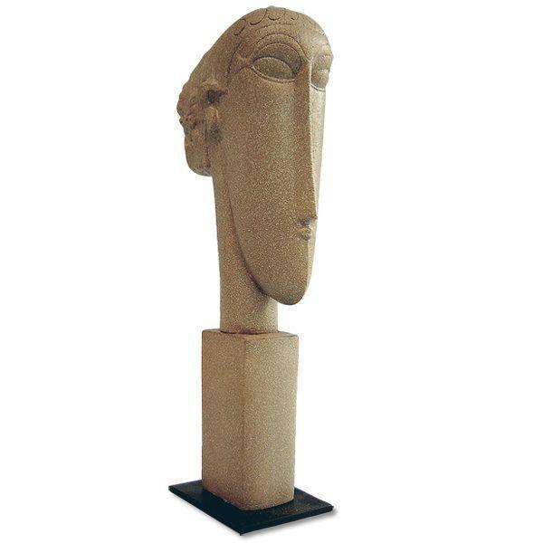 Modigliani, Amedeo: »Tête II«, 1911-1912