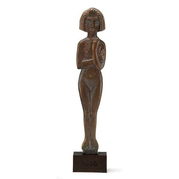 Nolde, Emil: Skulptur »Stehende Frau«, 1913/14