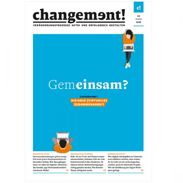 changement! Ausgabe 09/20: Die neue (virtuelle) Zusammenarbeit