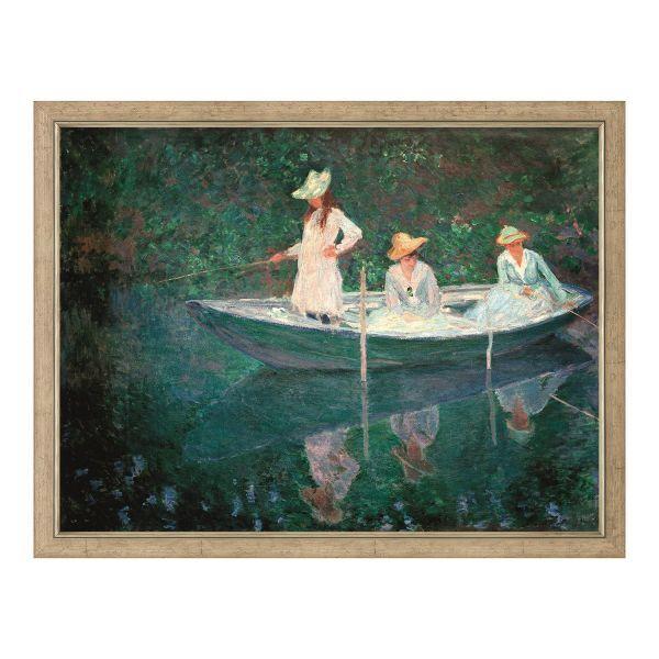Monet, Claude: »La barque à Giverny«, 1887