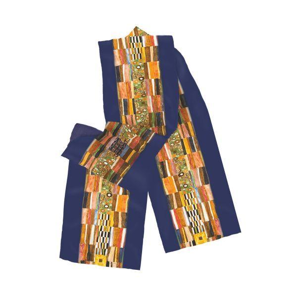 Herrenschal »Stoclet Fries«, nach Gustav Klimt