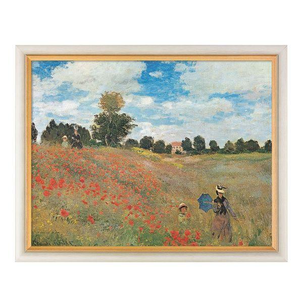 Monet, Claude: »Les coquelicots à Argenteuil«, 1873