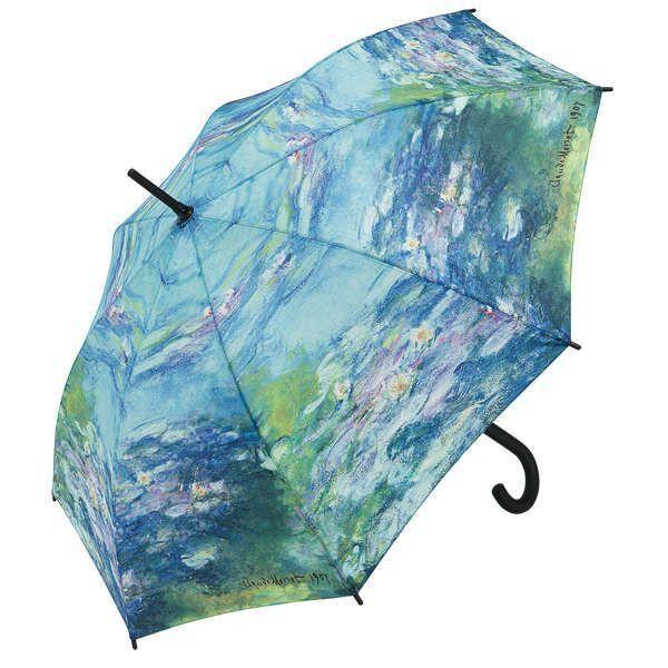Stockschirm »Seerosen«, nach Claude Monet
