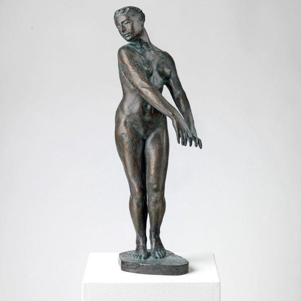 Kolbe, Georg: Skulptur »Junges Weib«, 1903/04