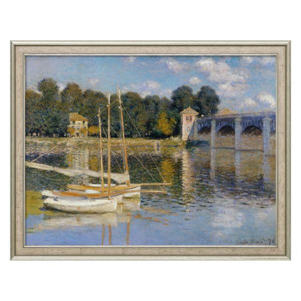 Monet, Claude: »Die Brücke von Argenteuil«, 1874