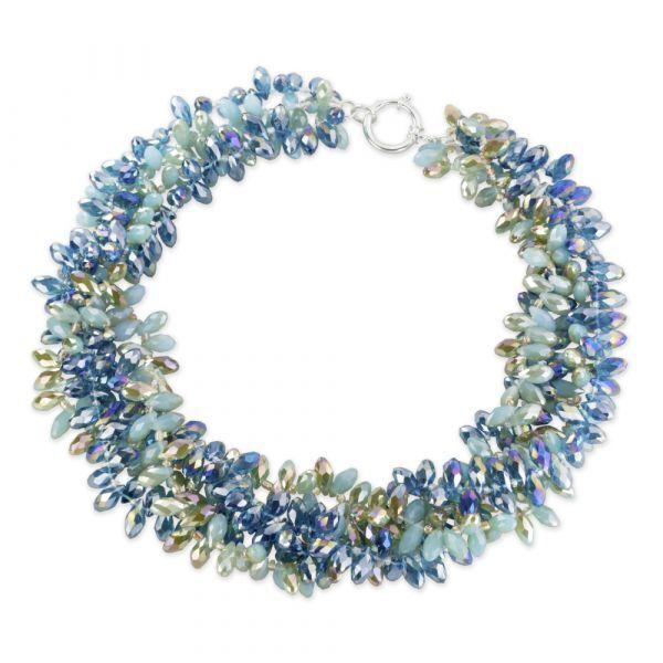 Waszak, Petra: Kristallglas-Collier »Capri«