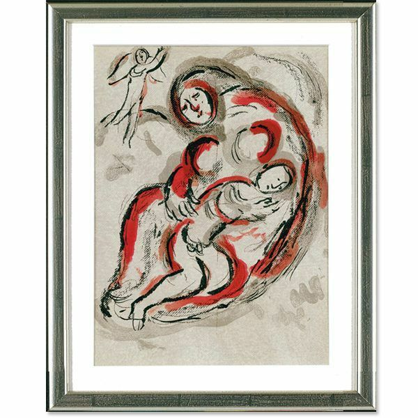 Chagall, Marc: »Hagar in der Wüste« (1960)