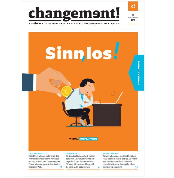 changement! Ausgabe 09/19: Motivation