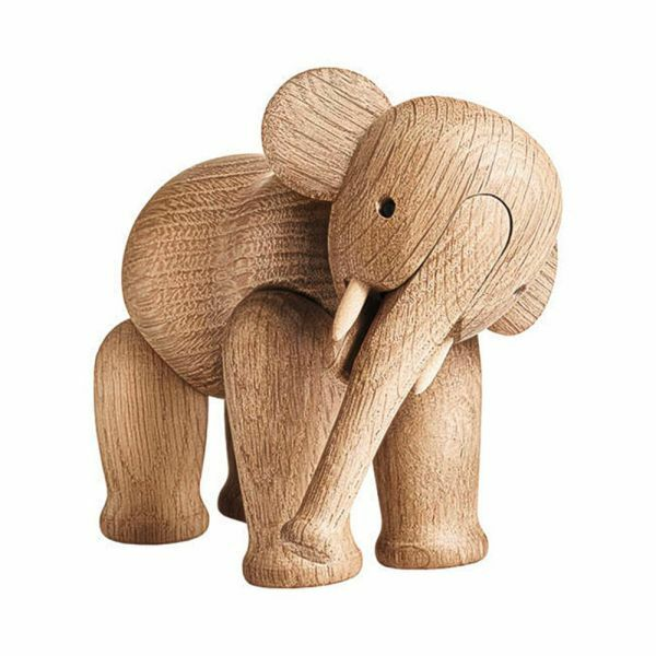Holzfigur »Elefant« von Kay Bojesen