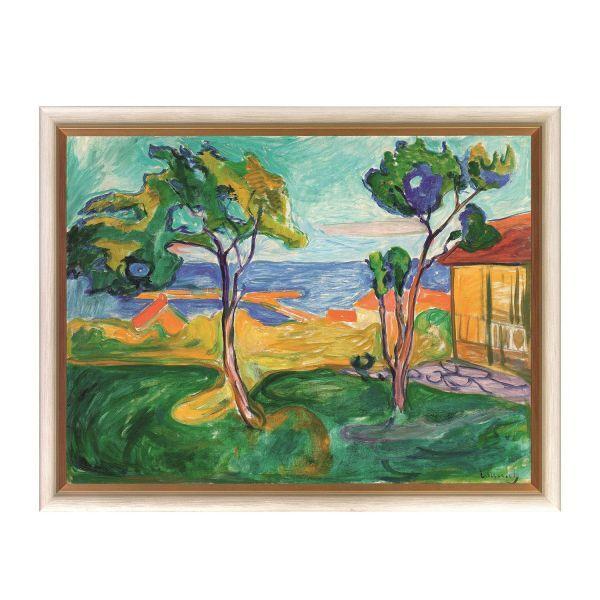 Munch, Edvard: »Der Garten in Asgardstrand«, 1904-05