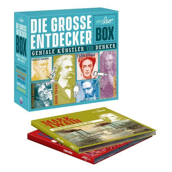 Die große Entdeckerbox »Geniale Künstler und Denker«