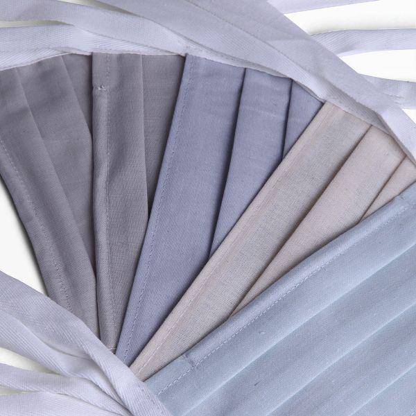 Set Schutzmasken gemischte Farben