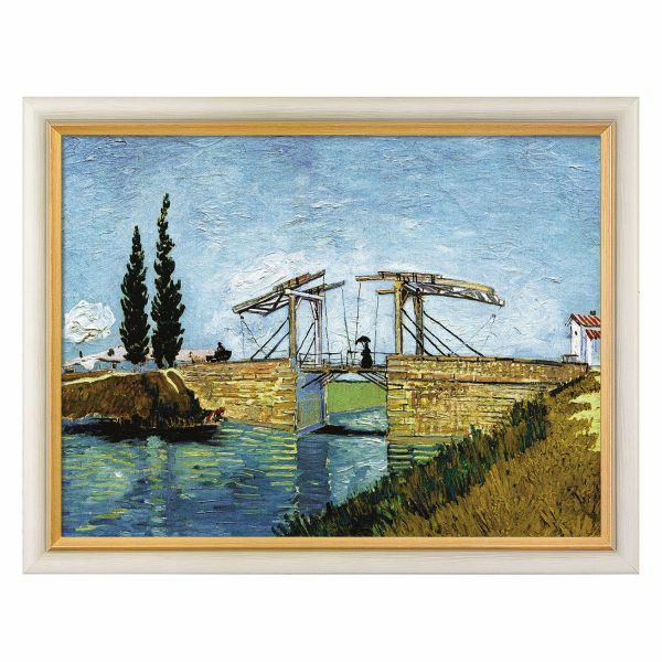 van Gogh, Vincent: »Die Zugbrücke«, 1888