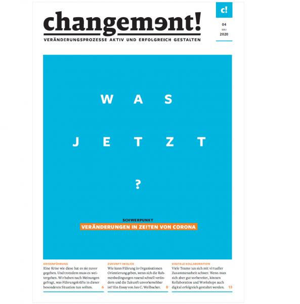 changement! Ausgabe 04/20: Veränderungen in Zeiten von Corona