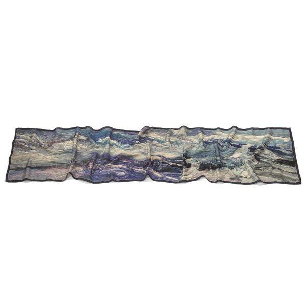 Schal »Himmel über Seenlandschaft«, nach Ben Kamili