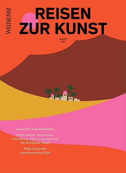 WELTKUNST 166/19 Reisen zur Kunst