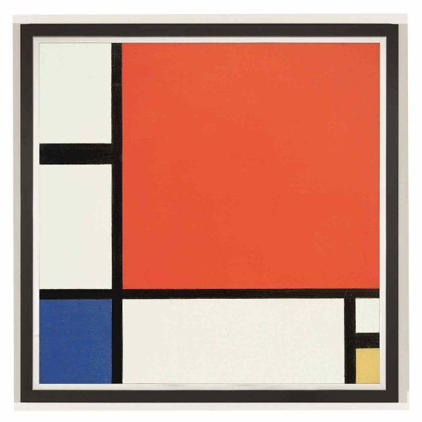 Mondrian, Piet: »Komposition in Rot, Blau und Gelb«, 1930
