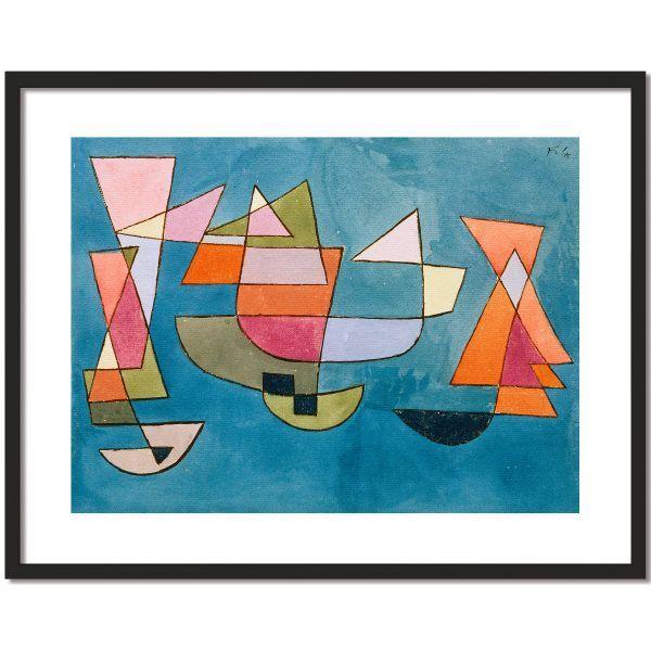 »Segelschiffe«, 1927 von Paul Klee