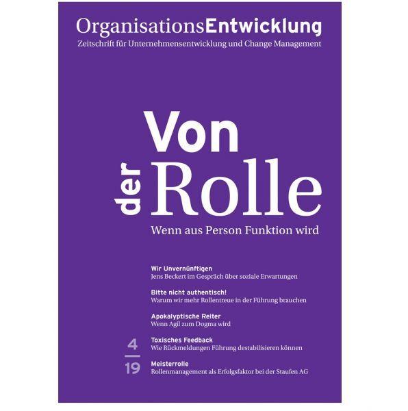 OrganisationsEntwicklung Ausgabe 04/2019: Von der Rolle