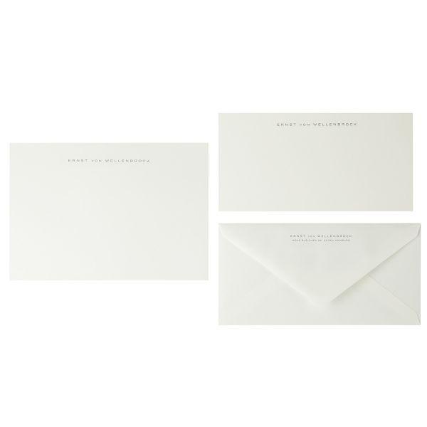 Briefpapier Miniformat, anthrazit