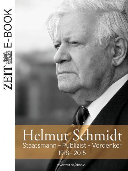»Helmut Schmidt: Staatsmann - Publizist - Vordenker«