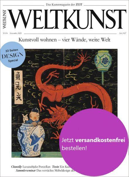 WELTKUNST 178/20: Kunstvoll wohnen – vier Wände, weite Welt