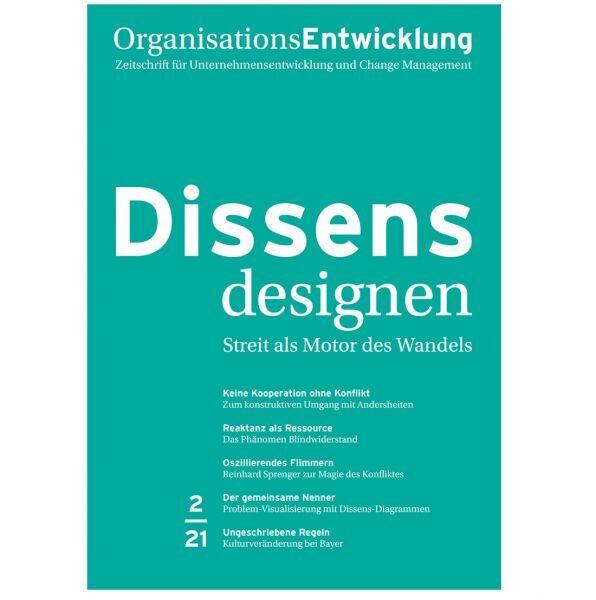 OrganisationsEntwicklung Ausgabe 02/2021: Richtig streiten