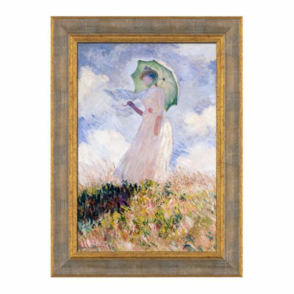 Monet, Claude: »Frau mit Sonnenschirm«, 1886