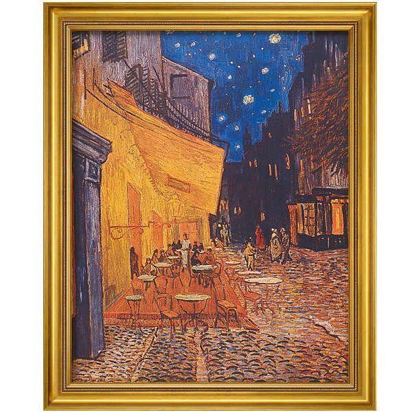 van Gogh, Vincent: »Café bei Nacht«, 1888