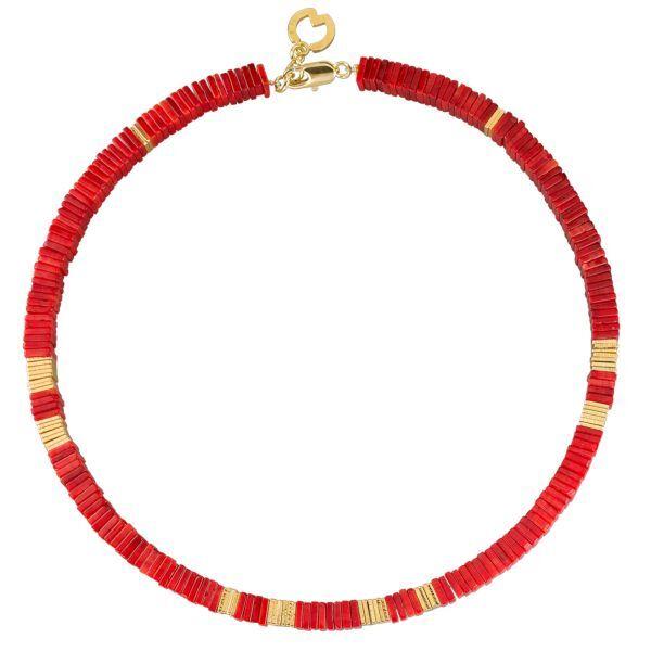 Waszak, Petra: Collier »Timeless Red«