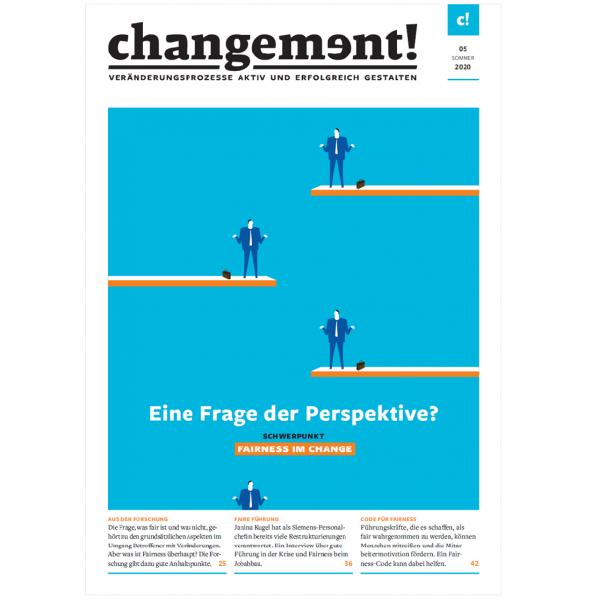 changement! Ausgabe 05/20: Fairness im Change