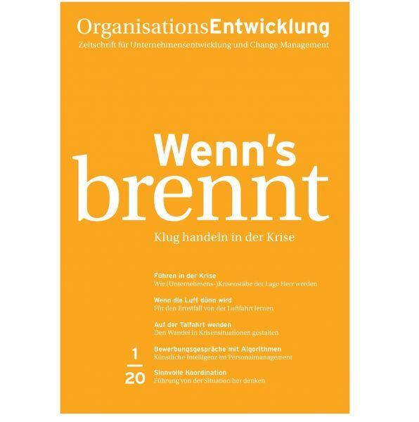 OrganisationsEntwicklung 01/2020: Wenn's brennt